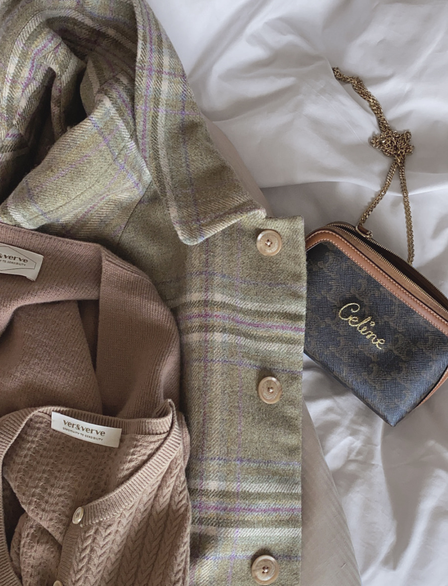 Verve X Marton Mills Tweed Coat